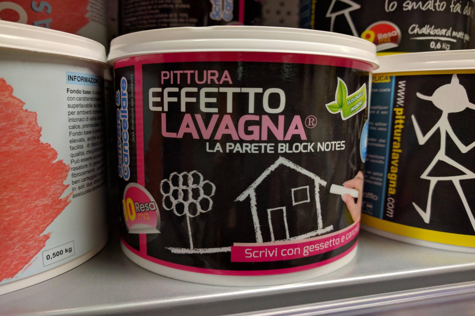 Vernice Lavagna Magnetica Colorata pittura lavagna e pittura calamita | villa edilizia